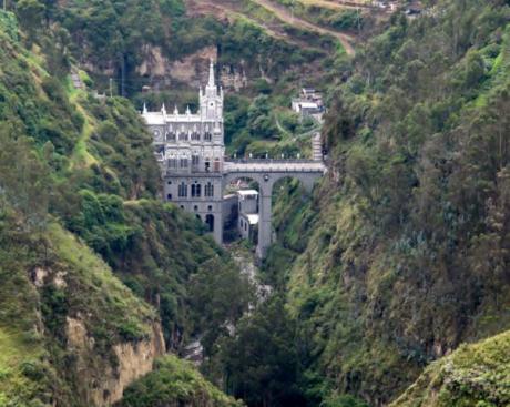 Santuario de Las Lajas.
