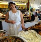 Otavalo food market.