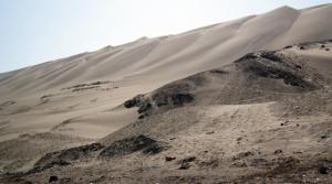 Mesmerizing sand dunes.