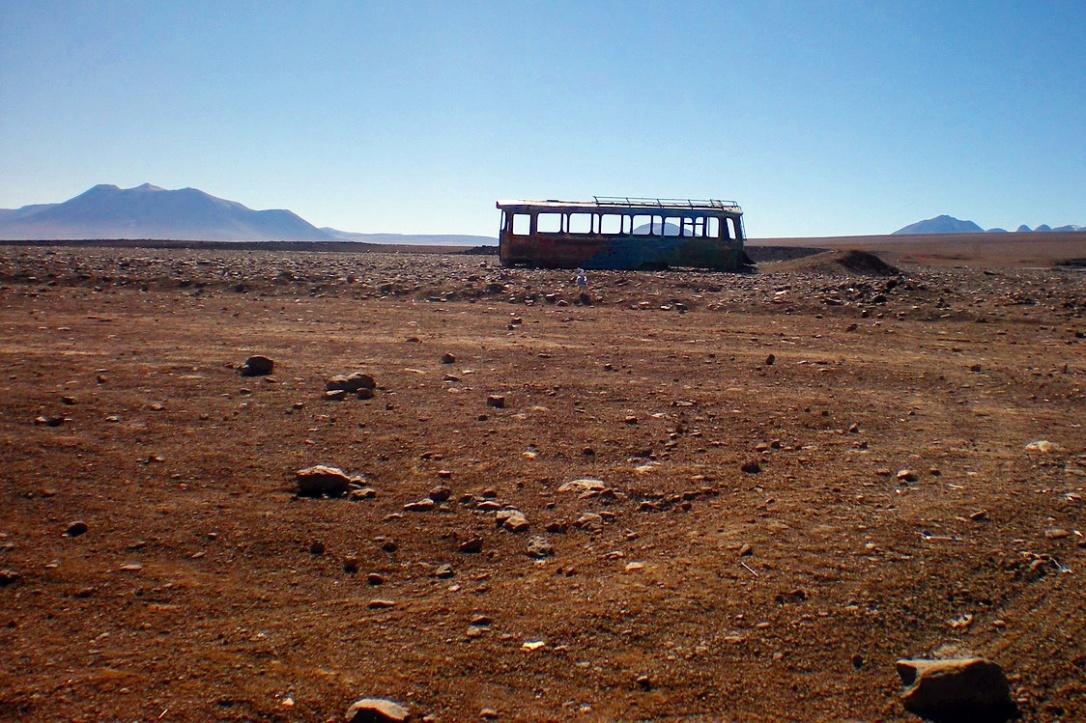 Near the Bolivia-Chile Border