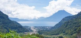Lake Atatlan, Guatemala.